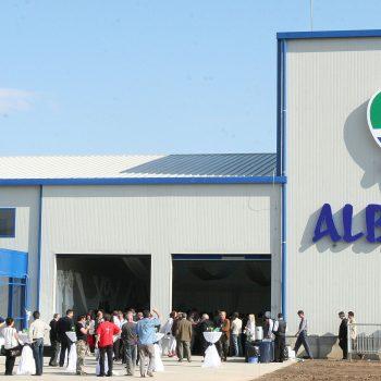 Inaugurare Fabrica Albalact Oiejdea – Septembrie 2007