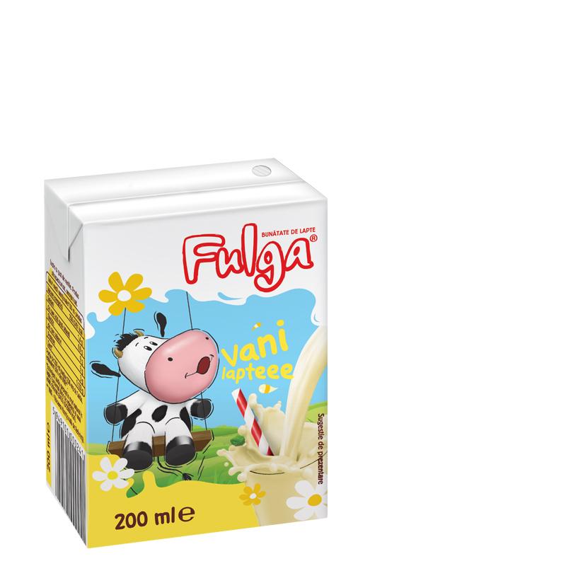 Fulga vanilla flavoured milk