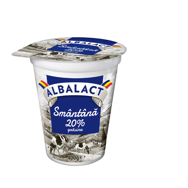 Albalact sour cream