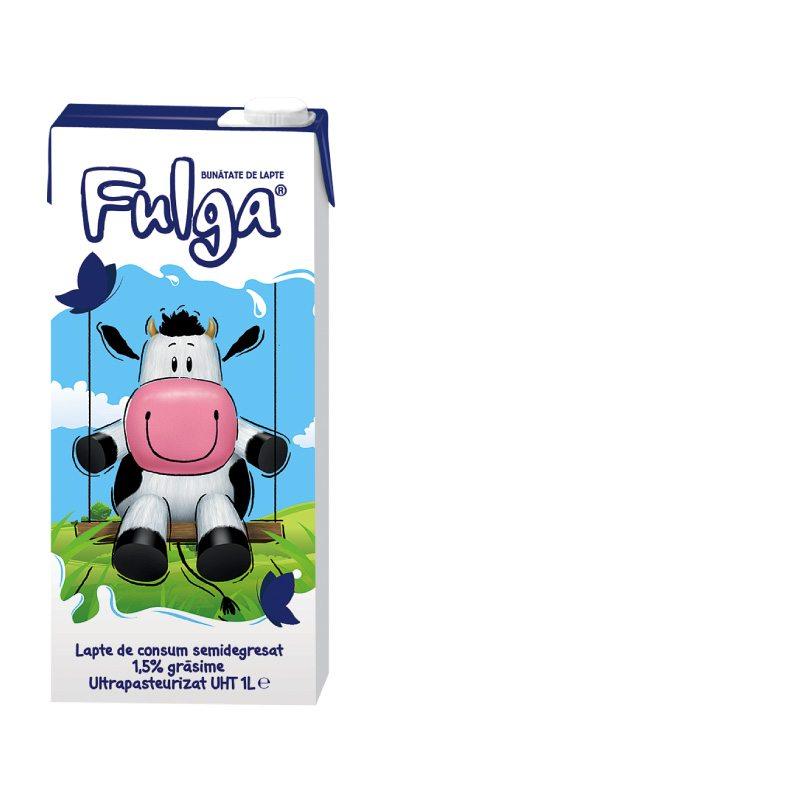 Fulga UHT semi-skimmed milk