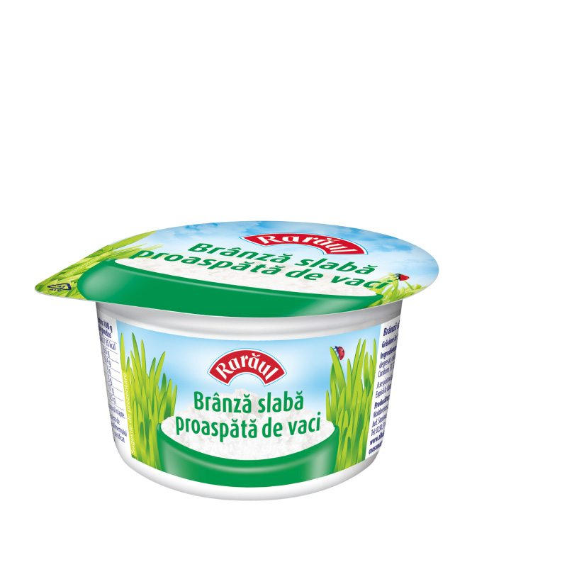 Rarăul low fat fresh cheese