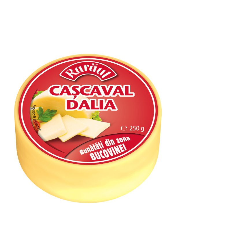 Rarăul Dalia yellow cheese