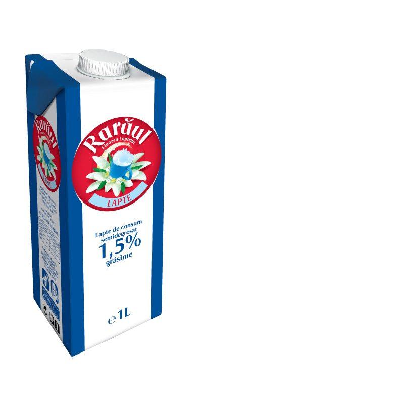 Rarăul semi-skimmed milk