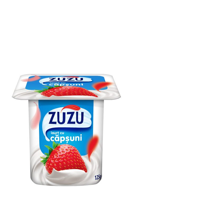 Zuzu strawberry yoghurt