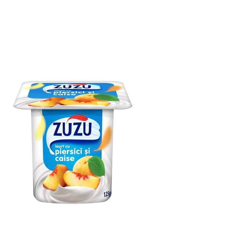 Zuzu peach and apricot yoghurt