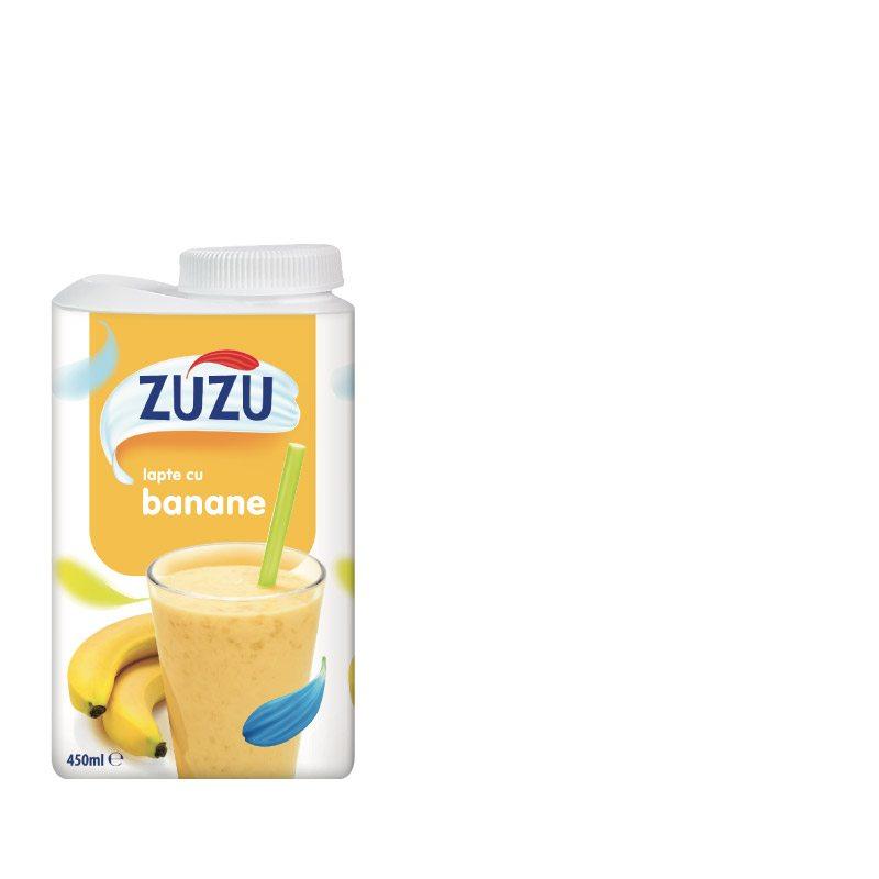 Zuzu lapte cu gust de banane