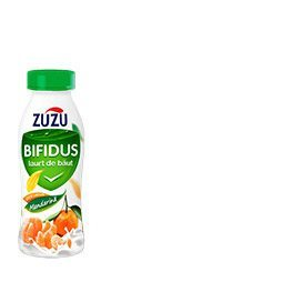 Zuzu Bifidus drinking yoghurt with mandarins