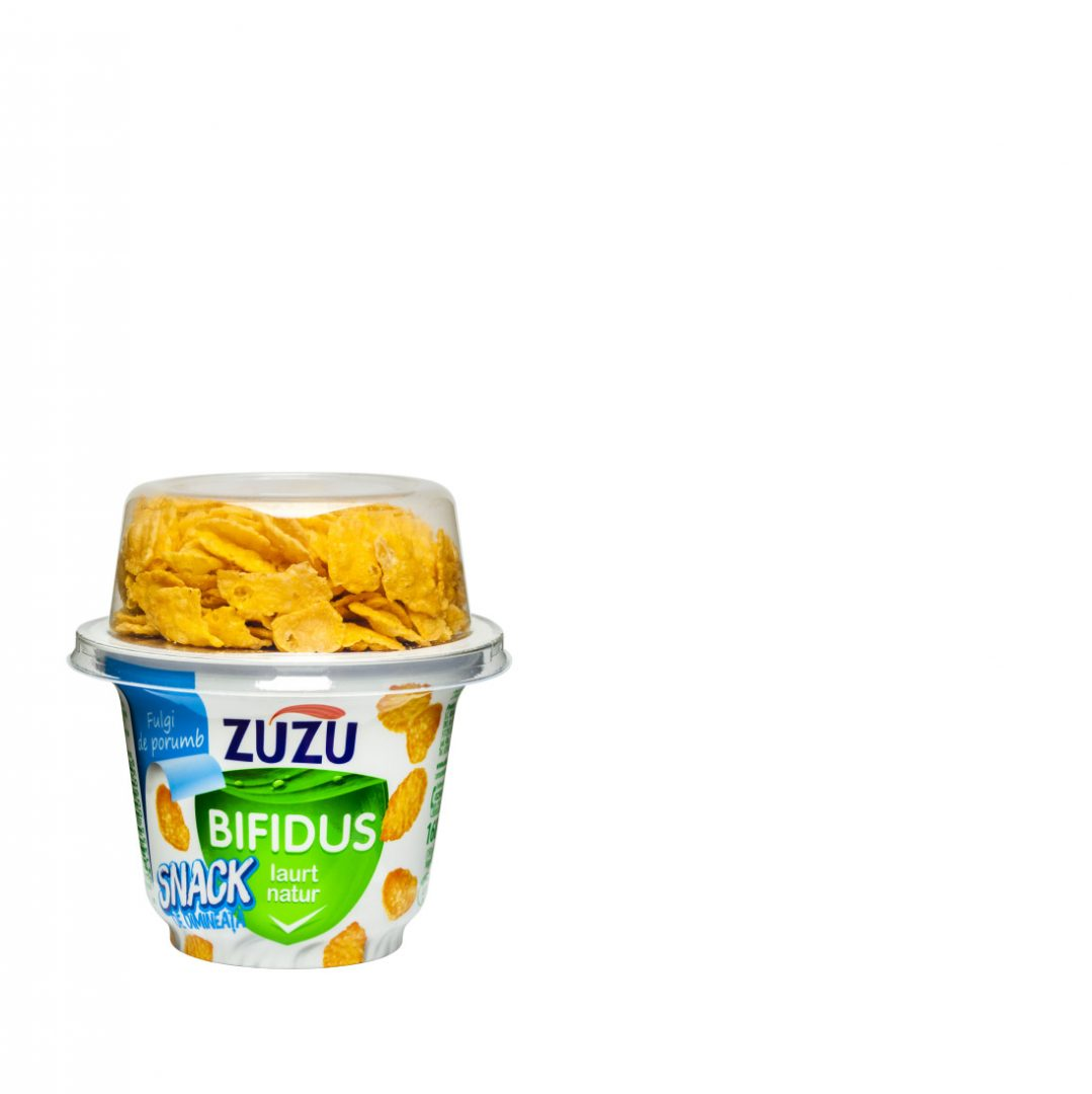 Zuzu Bifidus natural yogurt & corn flakes