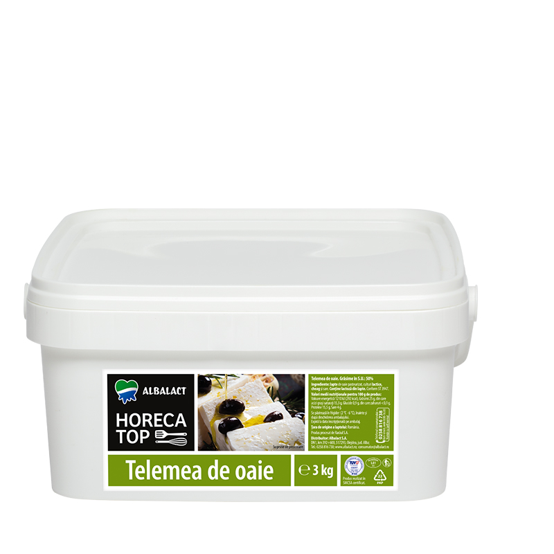 Horeca Top sheep milk telemea cheese