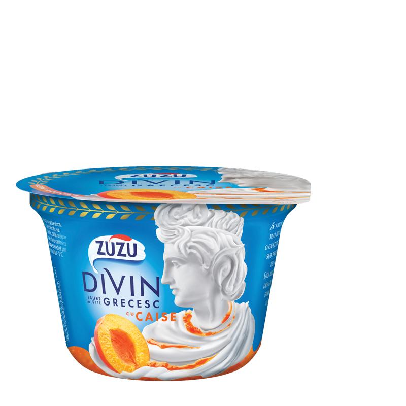 Zuzu Divin iaurt cu caise