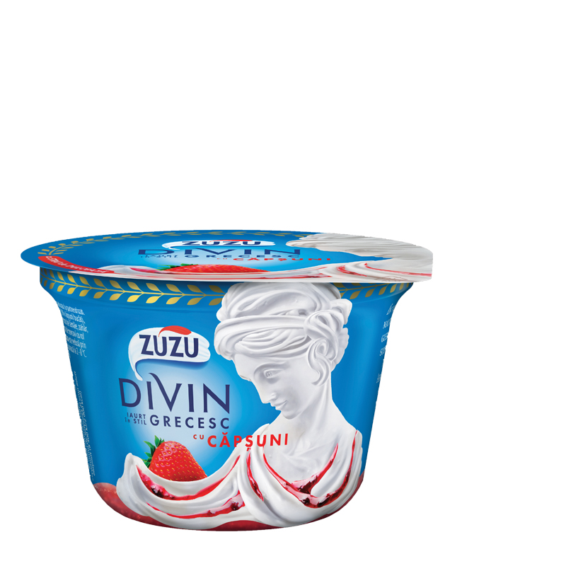 Zuzu Divin strawberry yoghurt